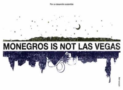 Monegros is not Las Vegas